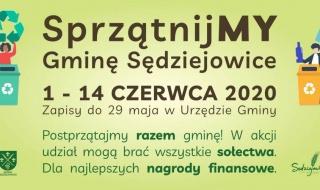 """Wkrótce wielkie sprzątanie gminy Sędziejowice. """"Chcemy pracować nad poprawą estetyki, czystości i porządku"""""""