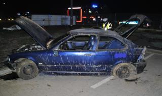 """Wypadek drogowy na """"starej ósemce"""" w Nowym Ochędzynie. Trzy osoby trafiły do szpitala"""