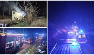 Tragiczny pożar w Opocznie. W budynku znaleziono zwęglone zwłoki
